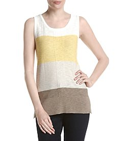Jones New York® Colorblocked Sleeveless Shell