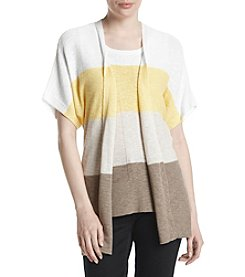 Jones New York® Colorblocked Cardigan