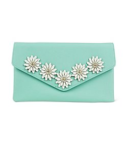 Jessica McClintock® Arielle Flower Applique Clutch