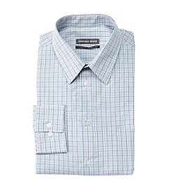Geoffrey Beene® Men's Grid Regular Fit Dress Shirt