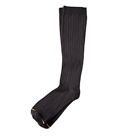 GOLD TOE® Mild Compression Rib Pattern Specialty Socks