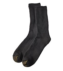 GOLD TOE® Non-Binding Super Soft Crew Socks