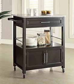 Linon Home Decor Products, Inc. Cameron Granite Top Kitchen Cart