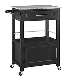 Linon Home Decor Products, Inc. Mitchell Granite Top Kitchen Cart