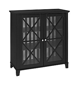 Linon Home Decor Products, Inc. Rapture Awning Stripe Large Cabinet
