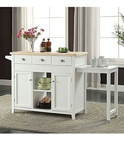 Linon Home Decor Products, Inc. Sheridan Kitchen Cart