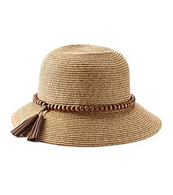 August Hats Globe Trotter Cloche Hat