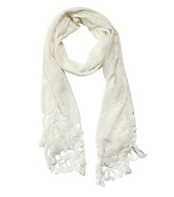 Steve Madden Pretty Perfect Swiss Dot Scarf