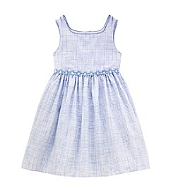 Laura Ashley® Girls' 2T-6X Check Dress
