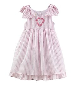 Laura Ashley® Girls' 2T-6X Striped Dress
