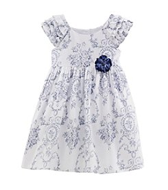 Laura Ashley® Girls' 2T-6X Printed Dress