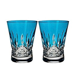 Waterford® Lismore Pops Set of 2 Double Old Fashioned Glasses