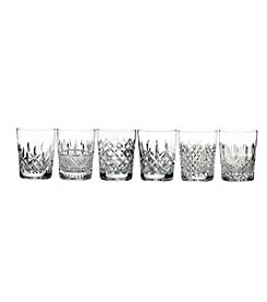 Waterford® Lismore Connoisseur Heritage Set of 6 Double Old-Fashioned Glasses