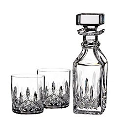 Waterford® Lismore Connoisseur Square 15.5-Oz. Decanter & 5-Oz. Tumbler Set