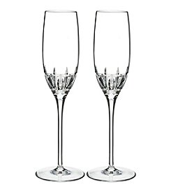 Marquis by Waterford® Harper Set of 2 Crystal Glass Flutes