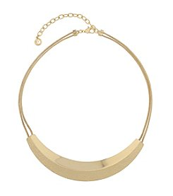 Gloria Vanderbilt® Frontal Bar Collar Necklace