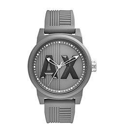 A|X Armani Exchange Men's Silicone Strap Watch