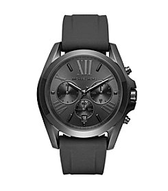 Michael Kors® Men's Bradshaw IP And Silicone Chronograph Watch
