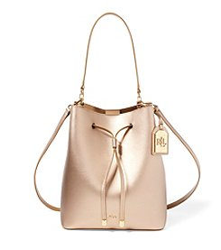 Lauren Ralph Lauren® Debby Leather Drawstring Bag