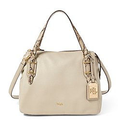 Lauren Ralph Lauren® Eileen Leather Satchel