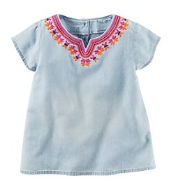 Carter's® Girls' 2T-8 Chambray Top