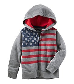 OshKosh B'Gosh® Boys' 2T-7 Full Zip Hoodie