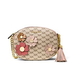 MICHAEL Michael Kors® Flora Applique Ginny Medium Messenger