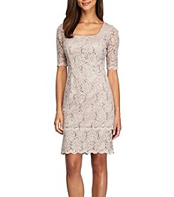 Alex Evenings® Lace Shift Dress