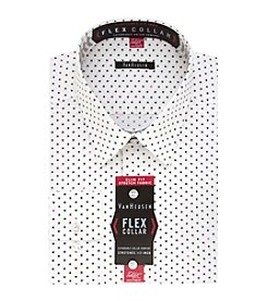 Van Heusen Men's Flex Collar Stretch Slim Fit Printed Dress Shirt