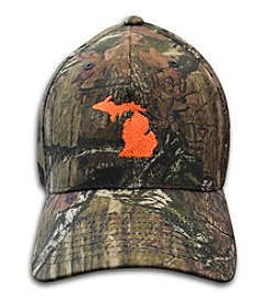 The Michigan Outfitter Flexfit Camo Cap