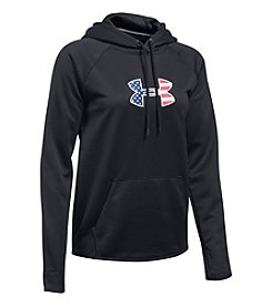 Under Armour® Big Flag Logo Hoodie