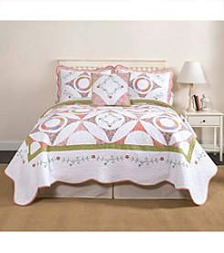 LivingQuarters Candice Quilt Collection