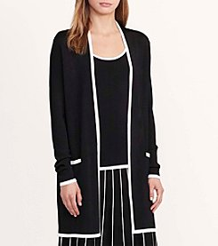 Lauren Ralph Lauren® Color-Blocked Cardigan