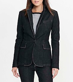 Lauren Ralph Lauren® Stretch Denim Blazer