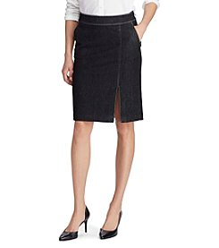 Lauren Ralph Lauren® Denim Pencil Skirt