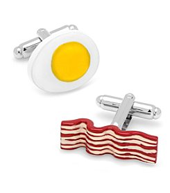 Cufflinks Inc. Bacon and Egg Breakfast Cufflinks