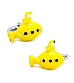 Cufflinks Inc. Yellow Submarine Cufflinks