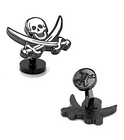 Disney® Pirates of the Caribbean Skull and Sword Cufflinks