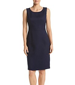 Kasper® Linen Sheath Dress