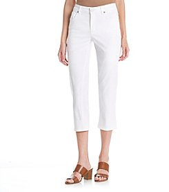 Jones New York® Lexington Stretch Capri Jeans