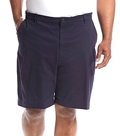 Chaps® Men's Big & Tall Flat Front Shorts