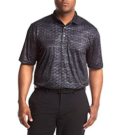 PGA TOUR® Men's Big & Tall Spliced Geo Polo