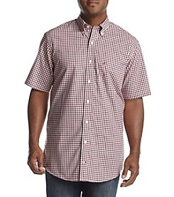 Nautica® Men's Big & Tall Medium Plaid Button Down Shirt