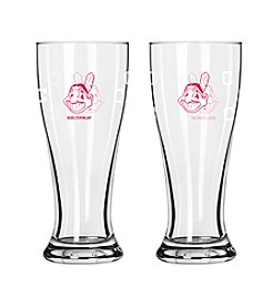 Boelter Brands MLB® Cleveland Indians 2-Pack Mini Pilsner Glasses