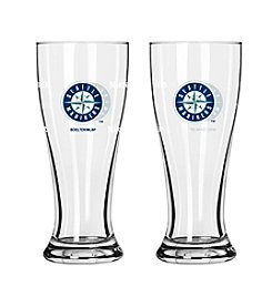 Boelter Brands MLB® Seattle Mariners 2-Pack Mini Pilsner Glasses