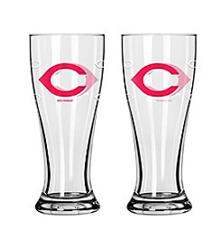 Boelter Brands MLB® Cincinnati Reds 2-Pack Mini Pilsner Glasses