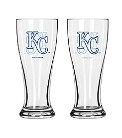 Boelter Brands MLB® Kansas City Royals 2-Pack Mini Pilsner Glasses