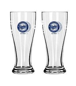 Boelter Brands MLB® Minnesota Twins 2-Pack Mini Pilsner Glasses