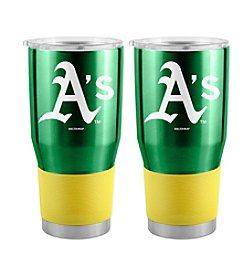 Boelter Brands MLB® Oakland Athletics Stainless Steel Ultra Tumbler