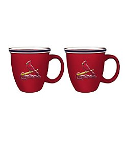 Boelter Brands MLB® St. Louis Cardinals 2-Pack Bistro Mugs